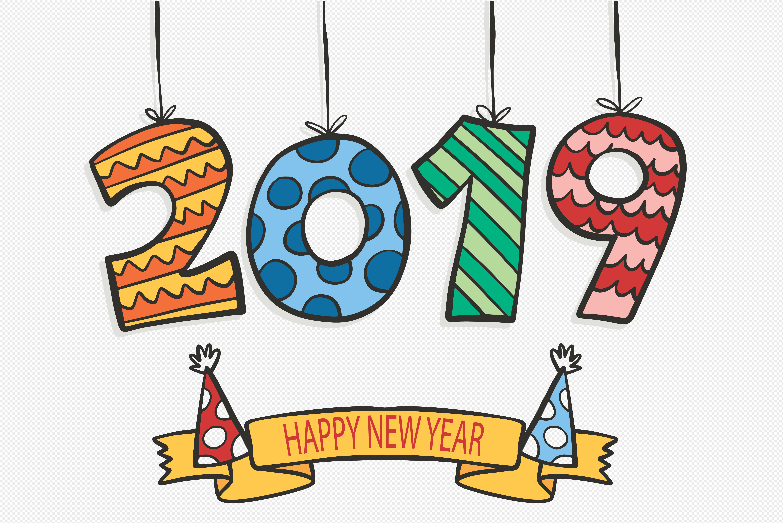 标签:  2019年 可爱搞怪字 新年 新年快乐 春节 圣诞帽 艺术字 猪年图片
