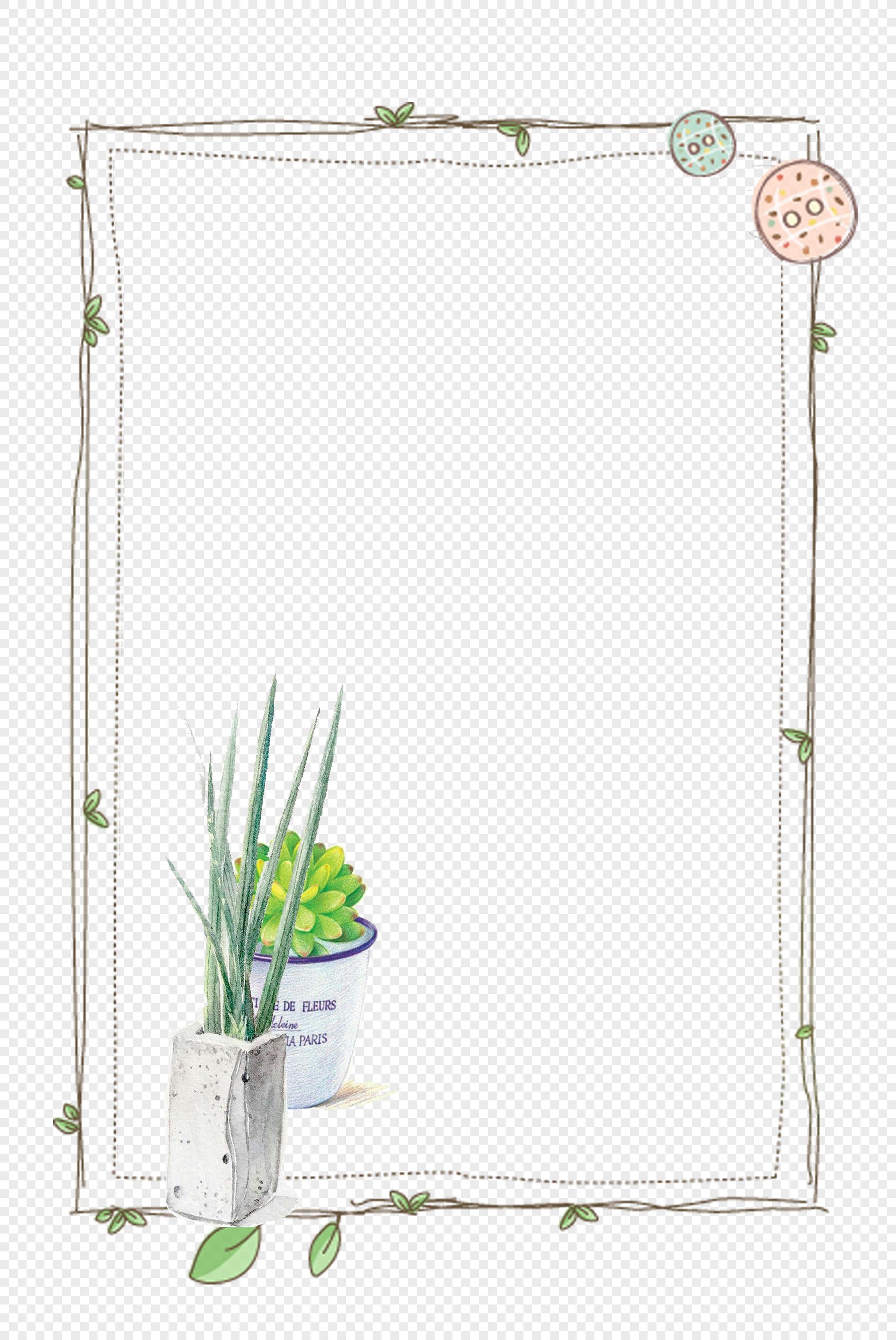 植物装饰背景边框图片素材编号400886701_prf高清图片