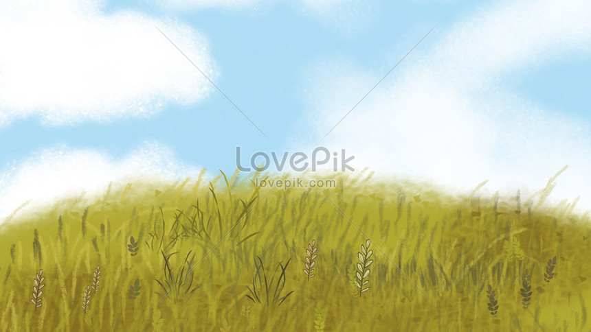 Hand Drawn Cartoon Grass Poster Background Backgrounds Image Picture Free Download 605588425 Lovepik Com
