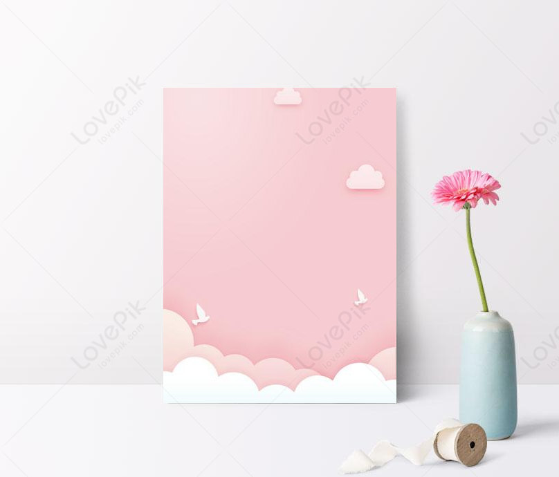 cute pink background