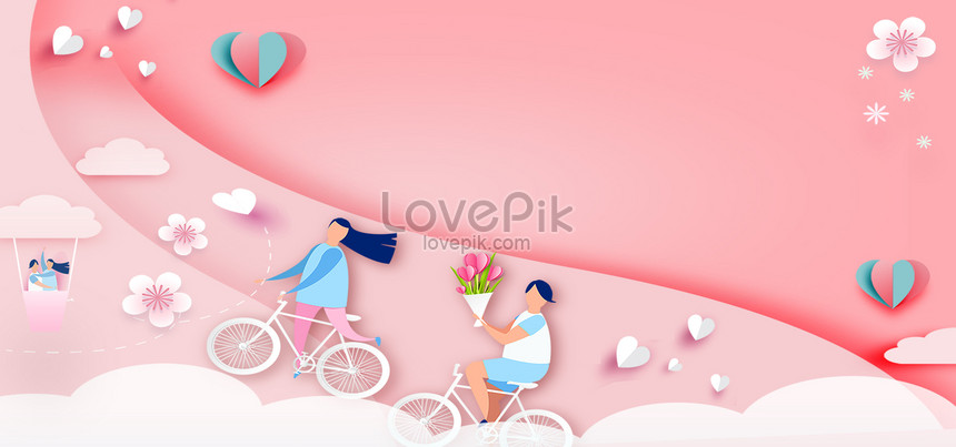 Red Minimalist Wedding Banner Backgrounds Image Picture Free Download 605671623 Lovepik Com