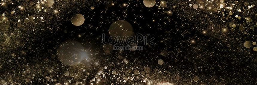 black black gold background template png