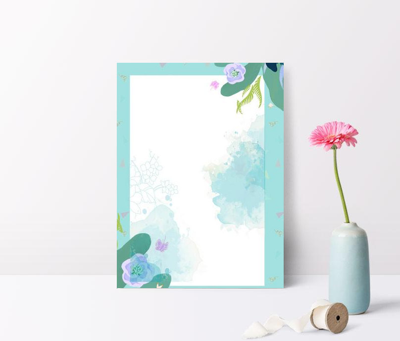 Simple Small Fresh Flower Border Blue Background Images Hd Psd Poster Backgrounds 605766132 Lovepik Com,Interior Bedroom Designs Indian Style