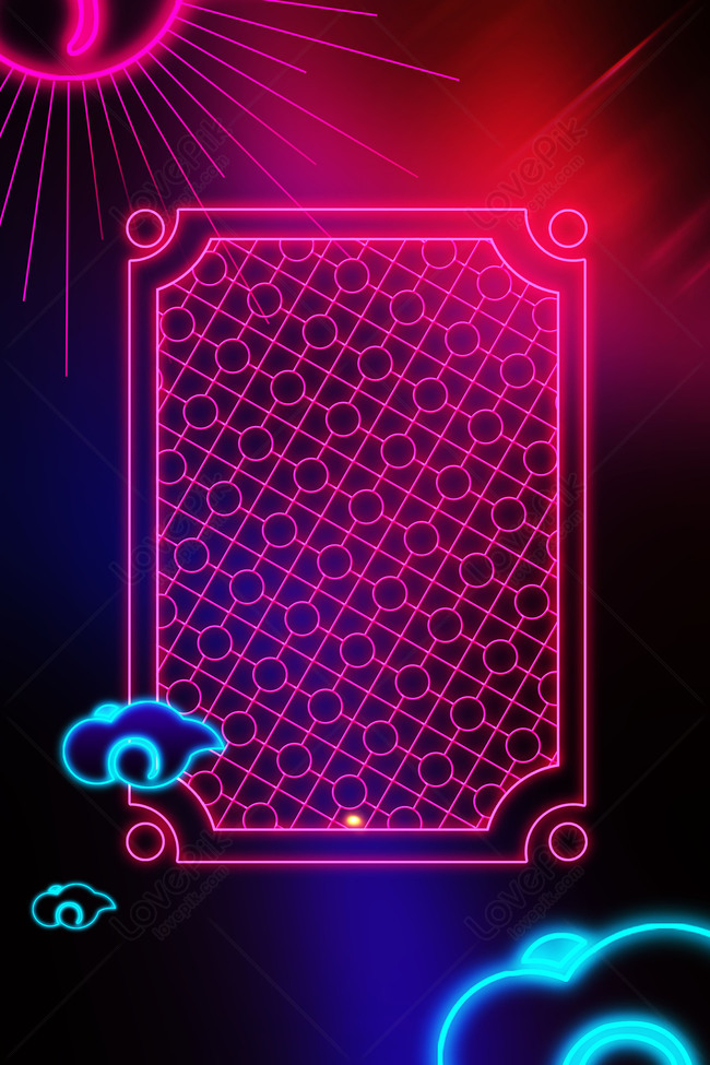 Creative Minimalistic Neon Hd Background Images Hd Psd Poster Backgrounds 605805694 Lovepik Com