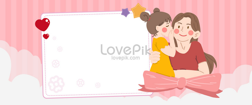 Mother And Baby Cartoon Simple E Commerce Banner Background Backgrounds Image Picture Free Download 605819058 Lovepik Com