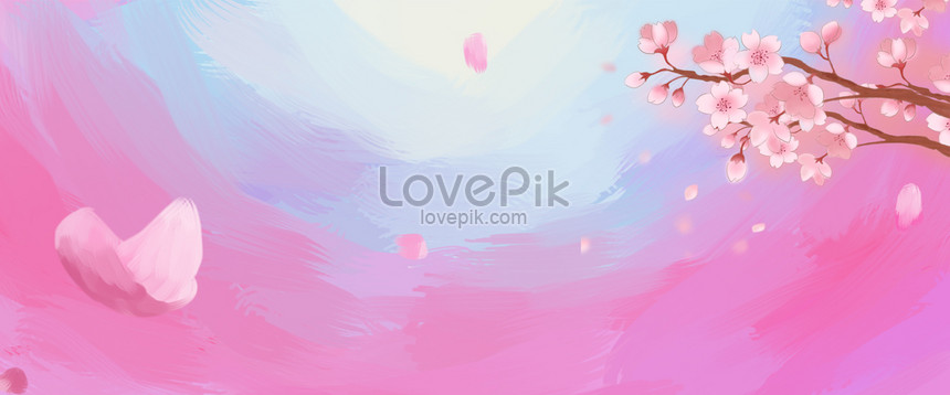 25+ Background Bunga Pink