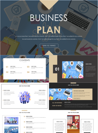 Business plan ppt template powerpoint templete_ppt free