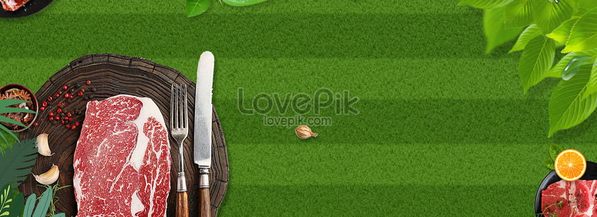 Creative Food Banner Design Background Banner Makanan ...