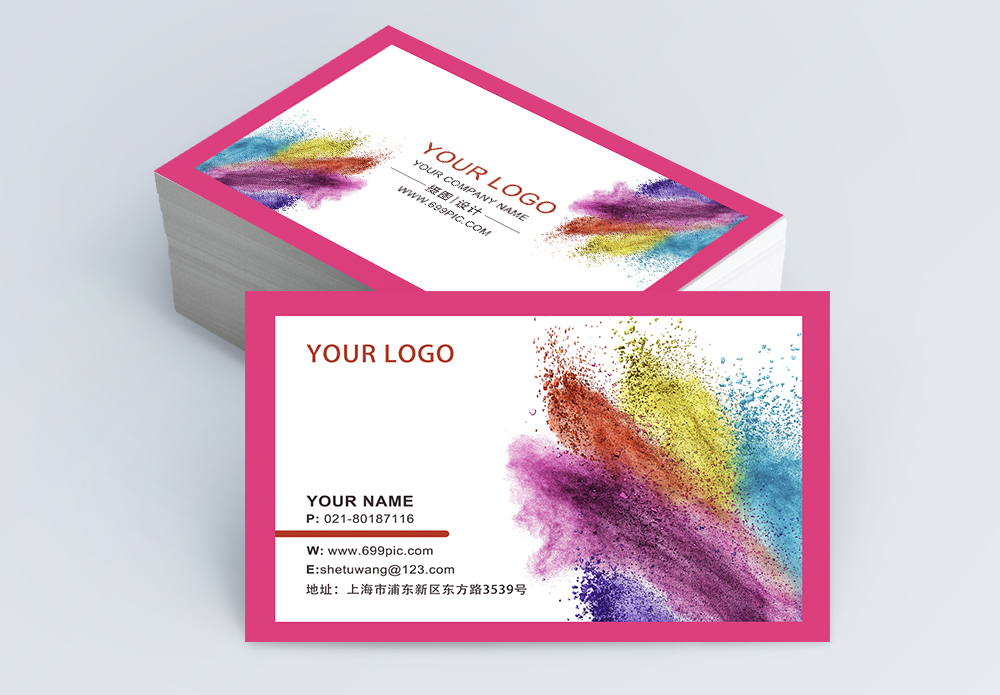 Beauty Banner Business Card Template36 Template Images Free