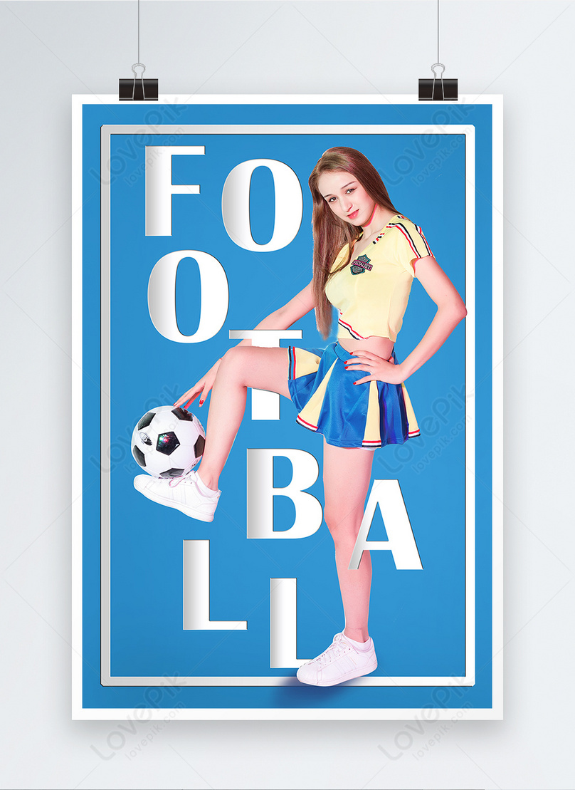 soccer baby sports poster