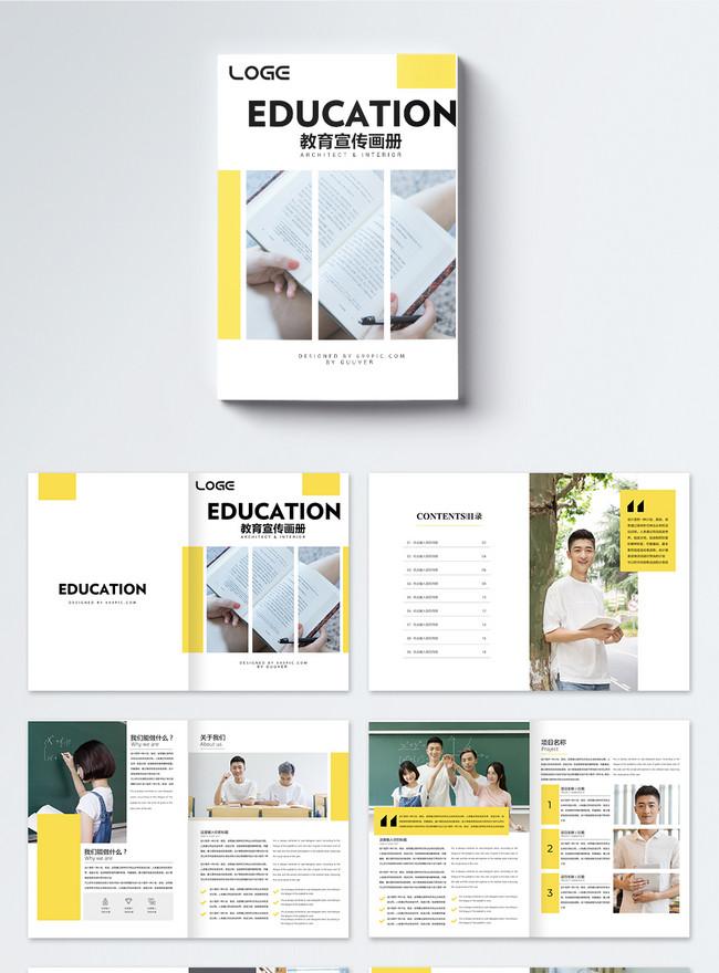 brochure di educazione fresca