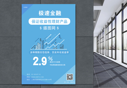 Financial posters Templates
