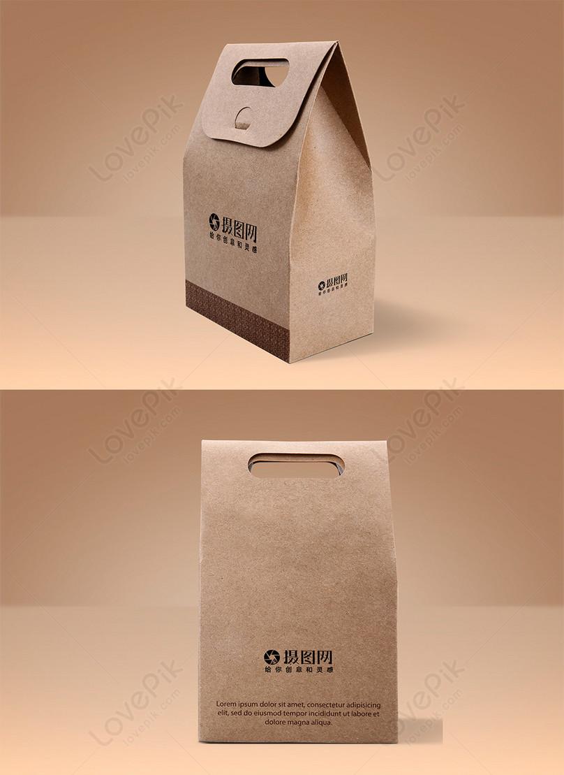 食品盒包裝樣機