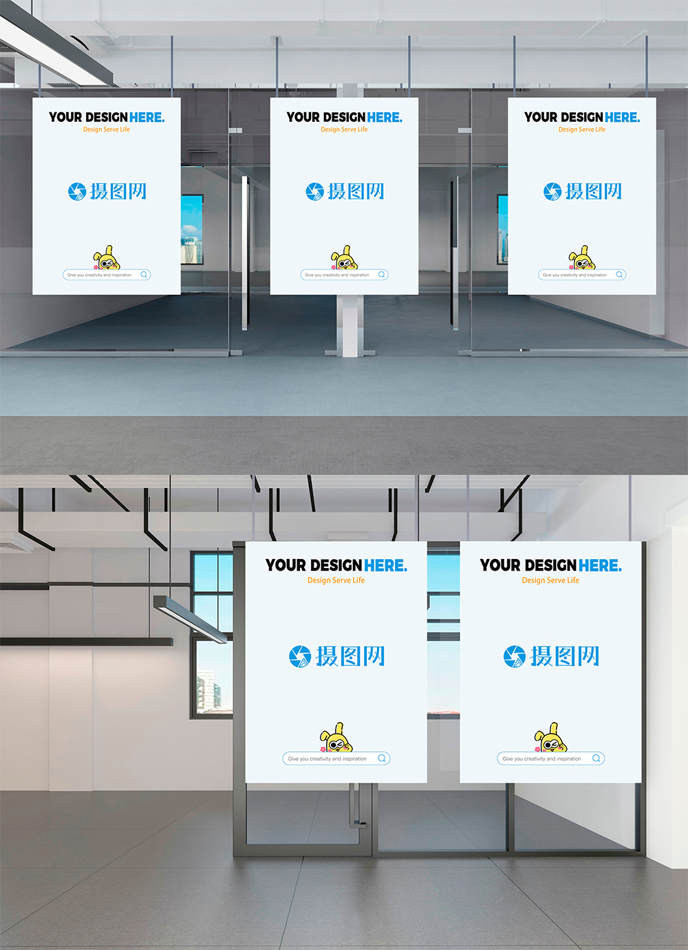 Exhibition Stand Mockup Psd Free : Propaganda poster mockup in exhibition hall template image picture