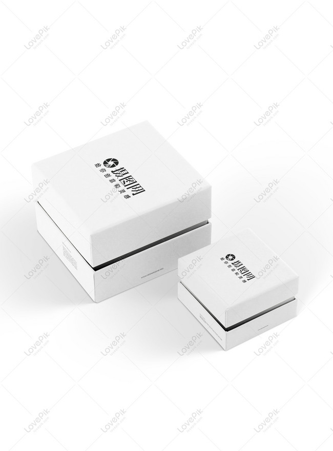 White Gift Box Packaging Mockup Template Image Picture Free Download 400747282 Lovepik Com