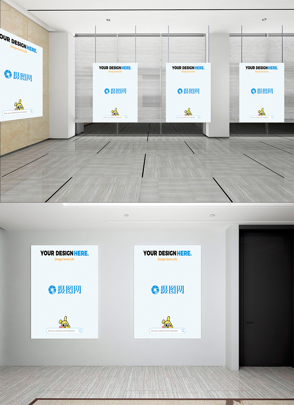 Exhibition Stand Mockup Psd Free : Picture frame mockup of exhibition hall template image picture free