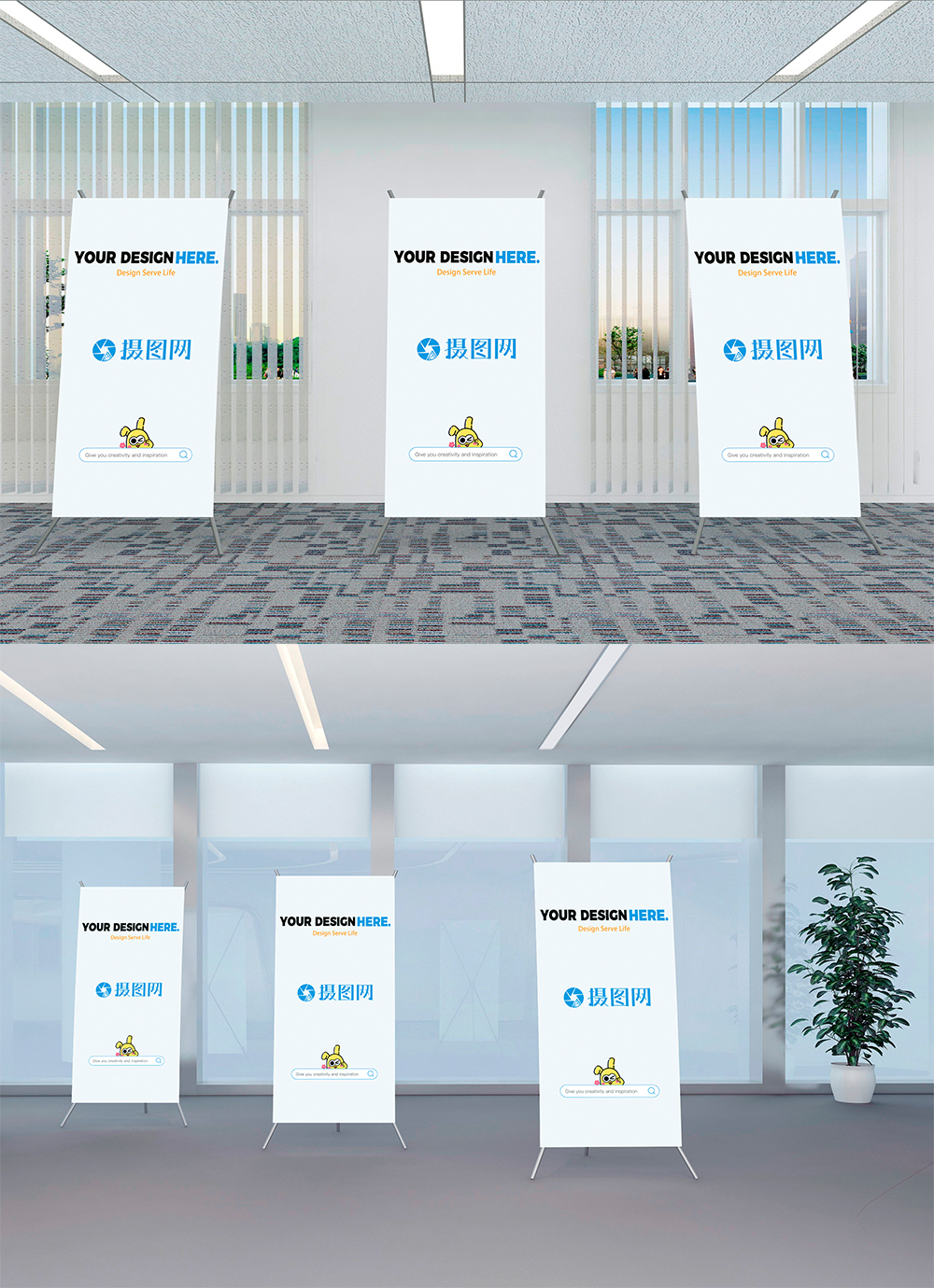 Exhibition Stand Design Mockup Free : Grand exhibition stand display mock up stock vector royalty free
