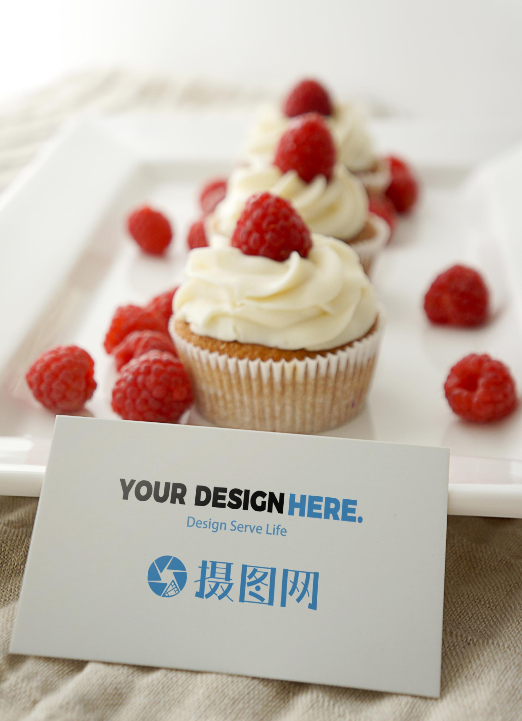 Prototype Vi De Carte Visite Dessert Gateau