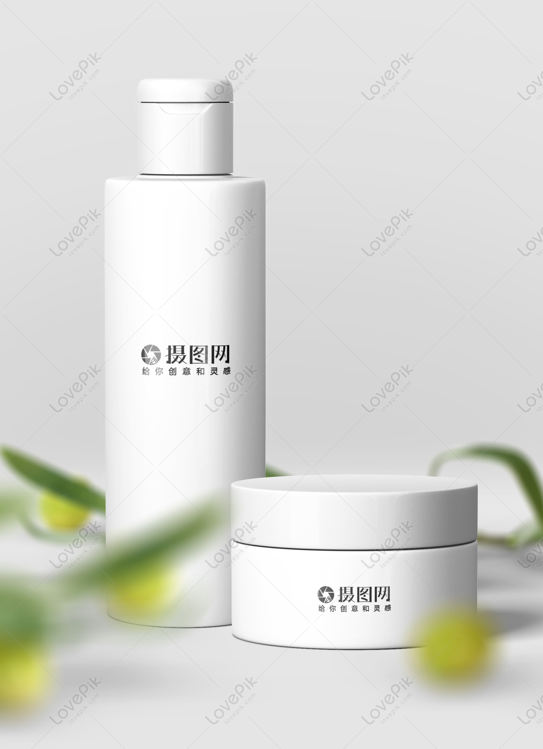 white cosmetic bottle mapping mockup template image picture free download 400825951 lovepik com