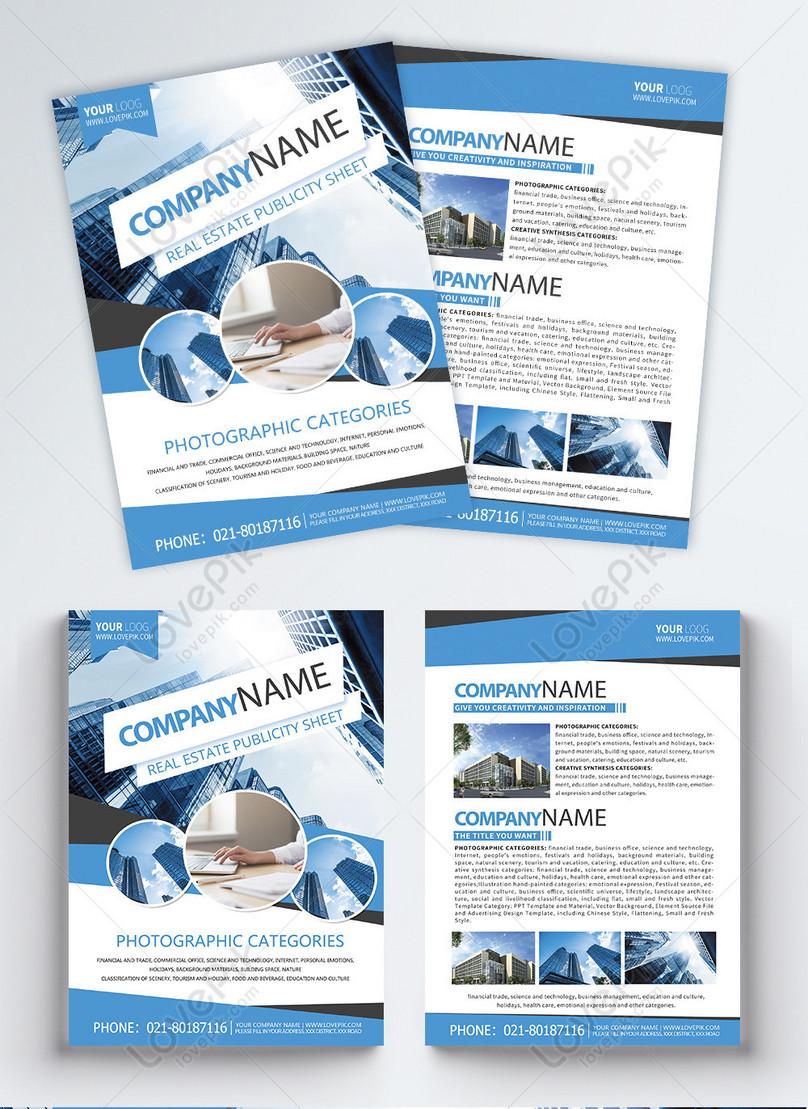 brochure de limmobilier en anglais