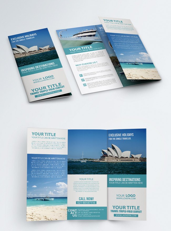tourism promotion brochure english