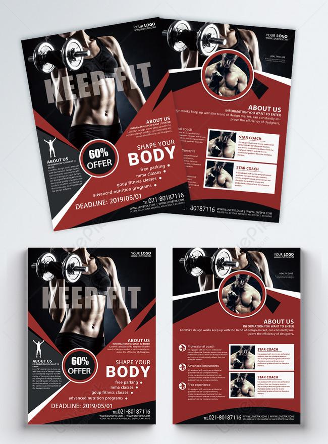 fitness leaflet english