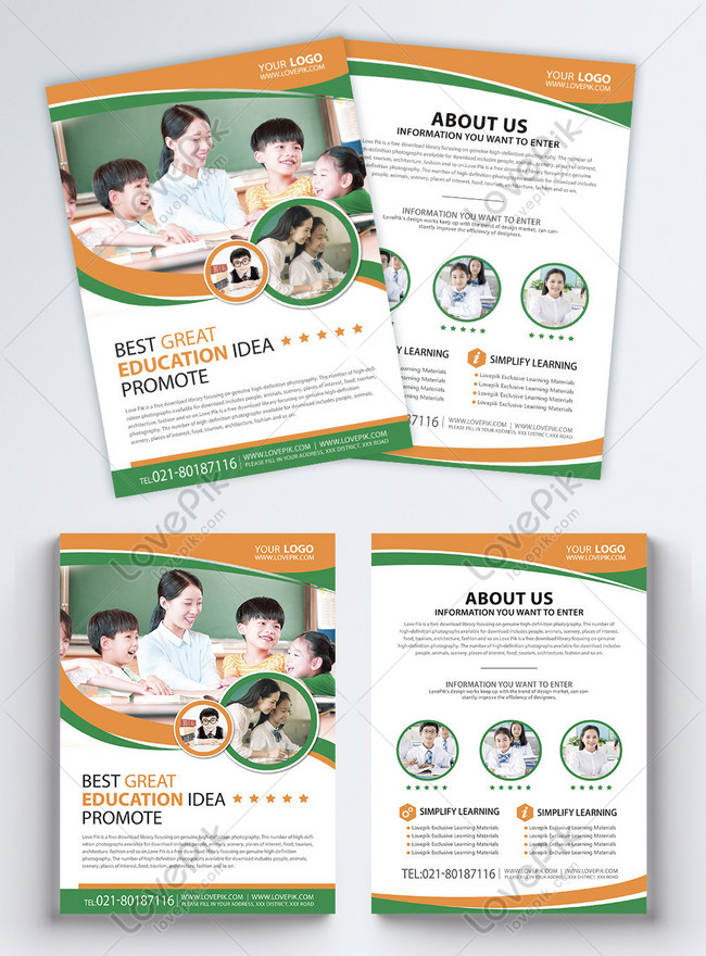 教育培訓類宣傳單英文