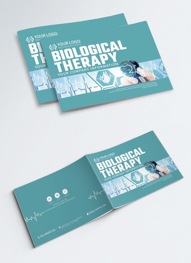 医療製品パンフレットパンフレット表紙