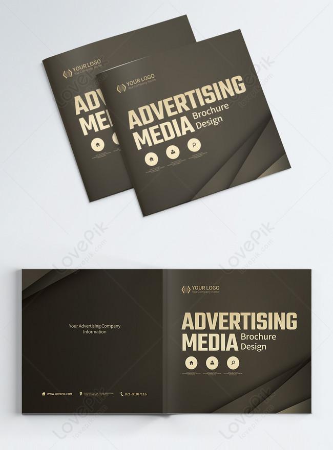 công ty truyền thông quảng cáo bìa album giới thiệu