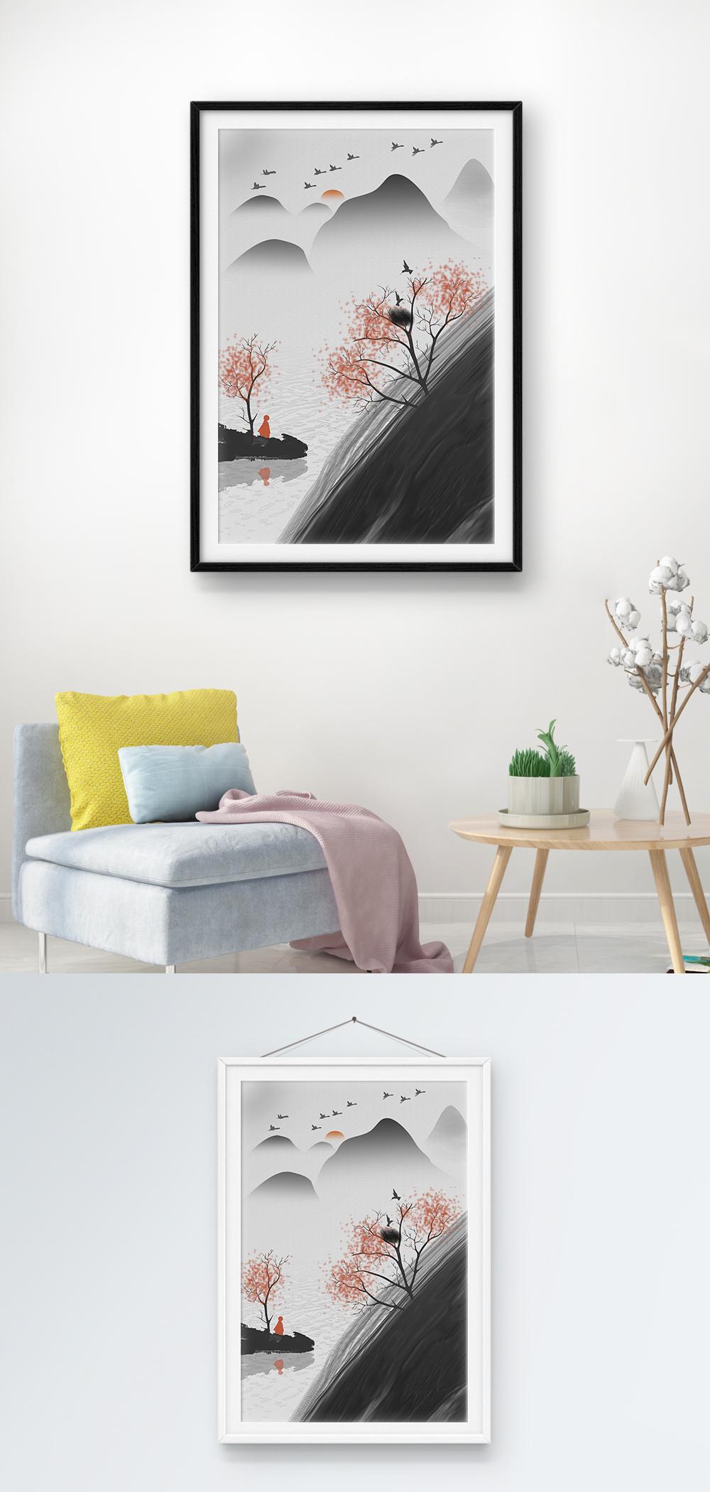 Photo de modèle de peinture de décoration de maison de style ...