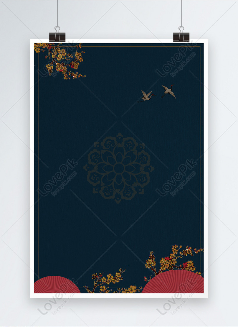 classical chinese style poster background