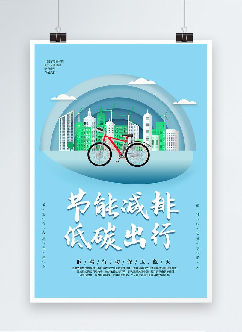 Poster Hemat Energi Dan Perlindungan Lingkungan Yang