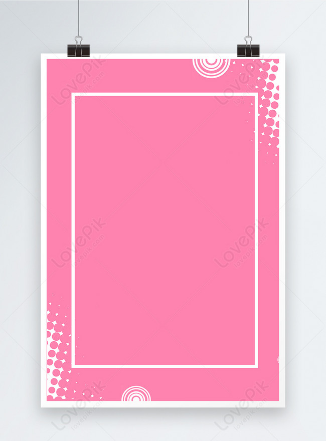 feminine pink poster background