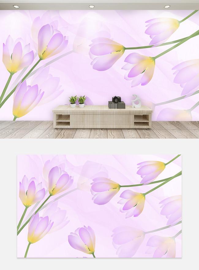 Dinding Latar Belakang Bunga Tulip Besar Dan Elegan Gambar Unduh Gratis Templat 401496212 Format Gambar Psd Lovepik Com