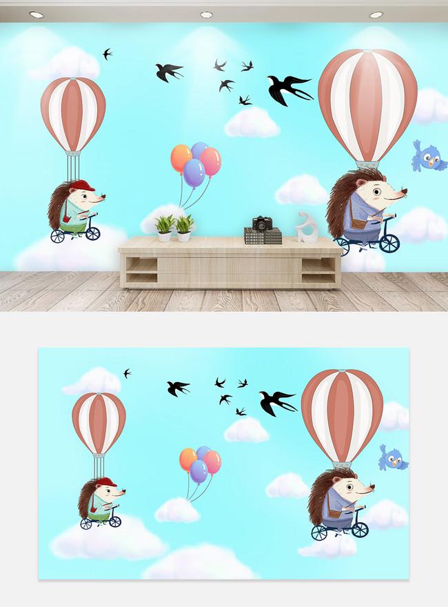 Kartun Anak Anak Kamar Wallpaper Dinding Latar Belakang Gambar Unduh Gratis Templat 401586573 Format Gambar Psd Lovepik Com