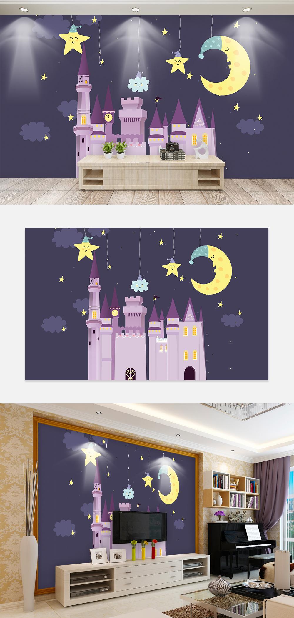 Kanak Kanak Castle Wallpaper Kertas Dinding Bilik Tidur