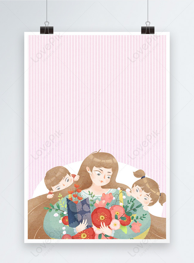 mothers day poster background