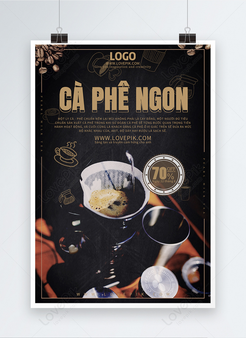 coffee promotion poster