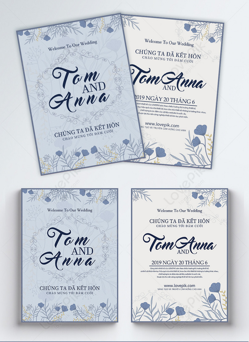 Wedding Invitation Flyer Template Image Picture Free Download
