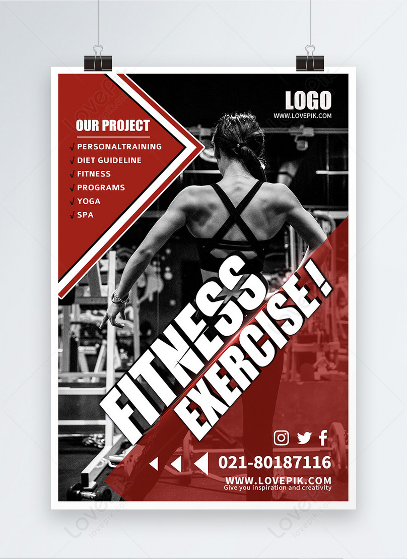 posters for fitness promotion
