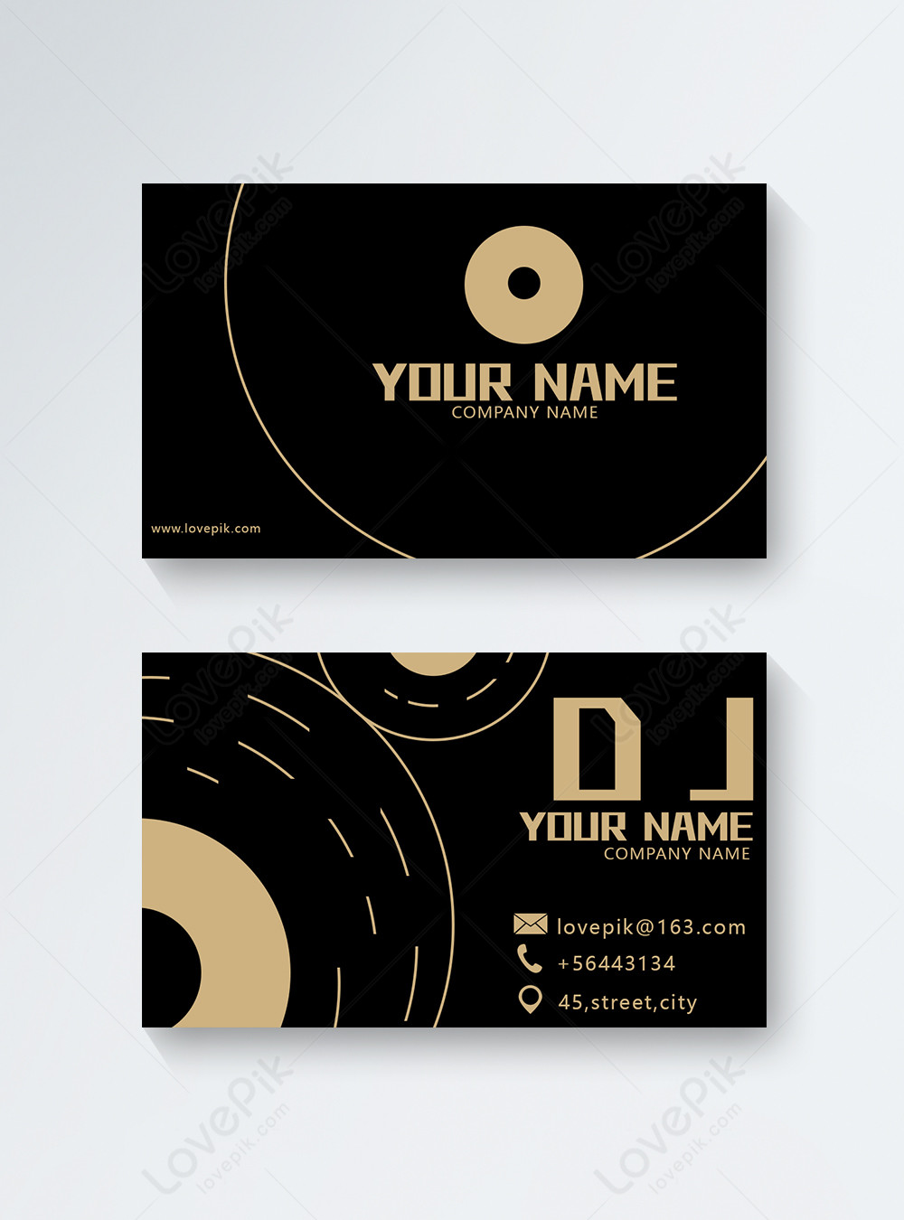 Dj Business Cards Template Image Picture Free Download 450000210 Lovepik Com