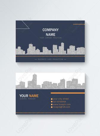 Kartu bisnis real estat Templat