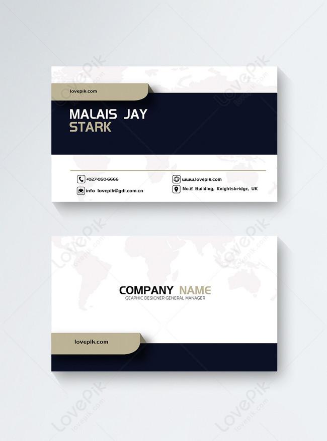 politics business card