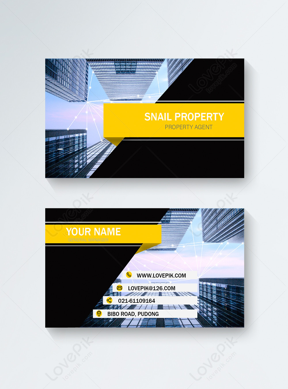 Architect business card template image_picture free download  450000389_lovepik.com