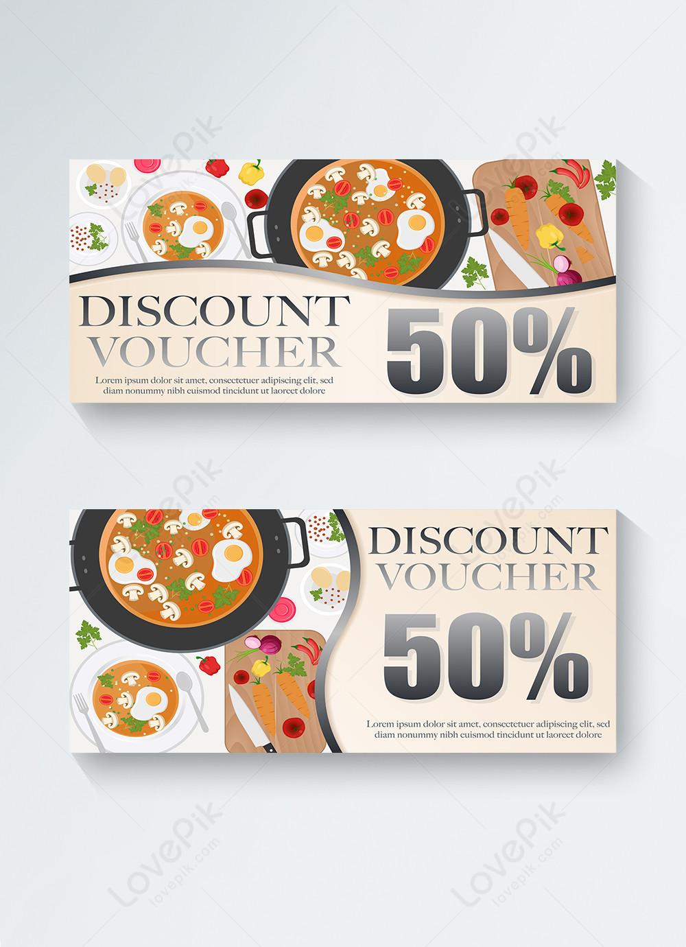 Image result for voucher restoran ilustrasi