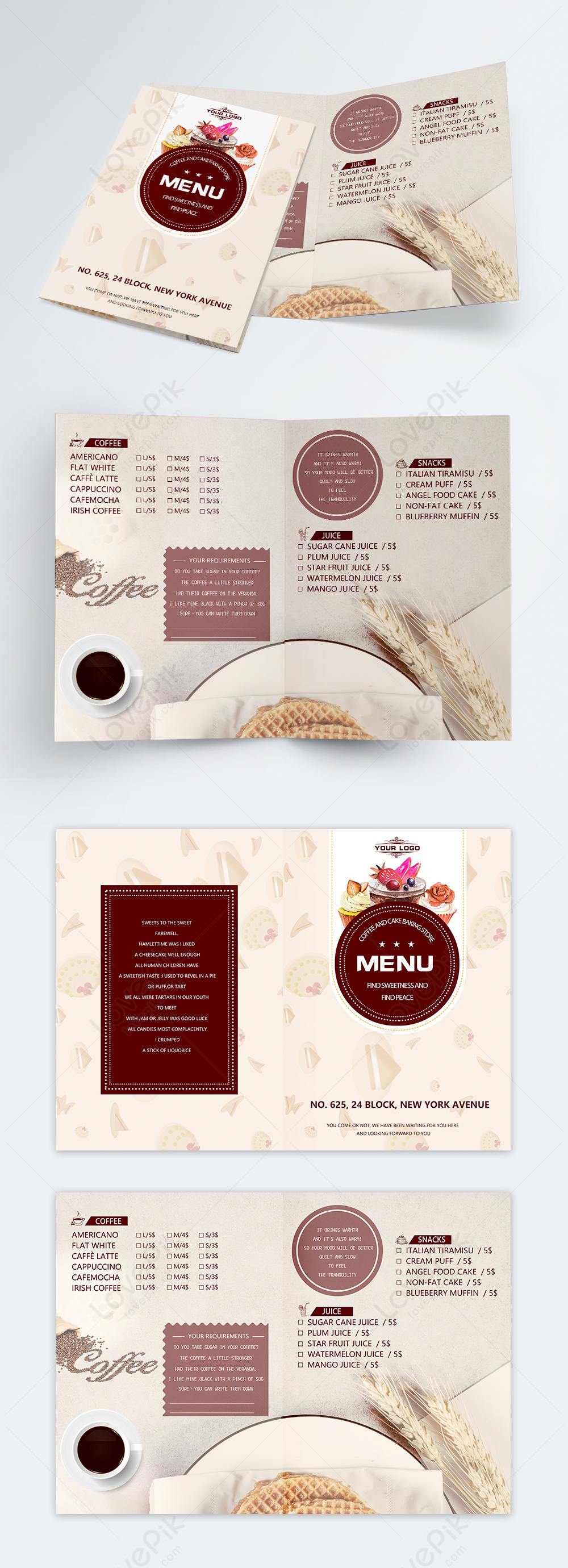 Menu Template Download from img.lovepik.com