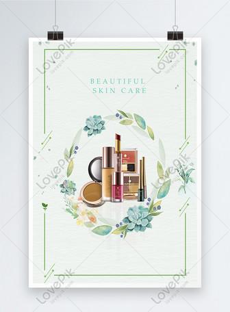 सौंदर्य और त्वचा देखभाल पोस्टर टेम्पलेट्स
