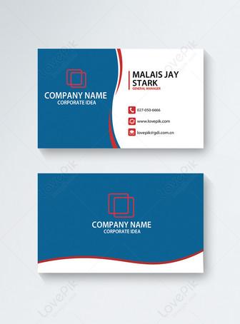 Simple modern business card Templates