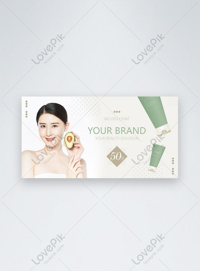 anuncios de facebook de promoción de cosméticos green fresh styl