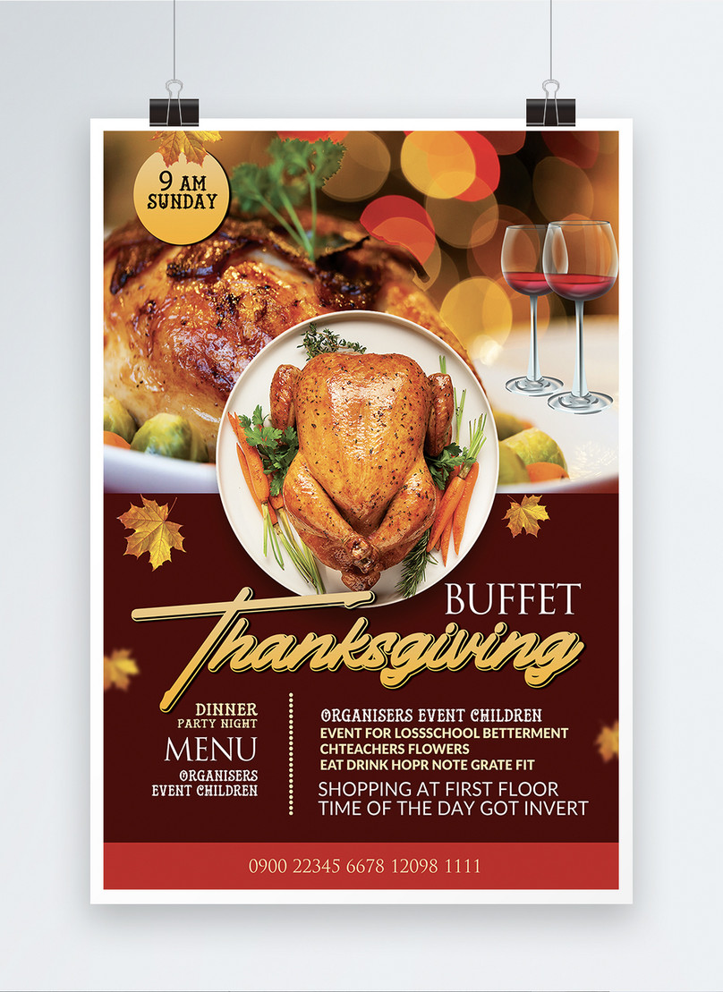 Thanksgiving Day Food Drive Night Poster Template Template Image Picture Free Download 450001552 Lovepik Com